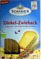 Dinkel-Zwieback - Product