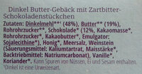 Schoko-Split - Ingredients - de