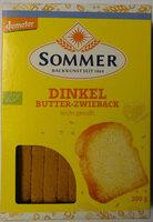Dinkel Bitter-Zwieback - Product