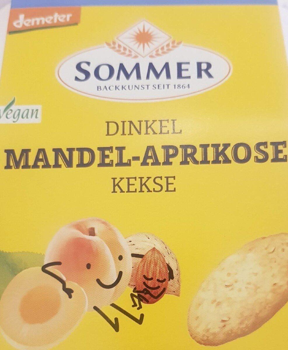 Dinkel Mandel-Aprikose Kekse - Produkt - de