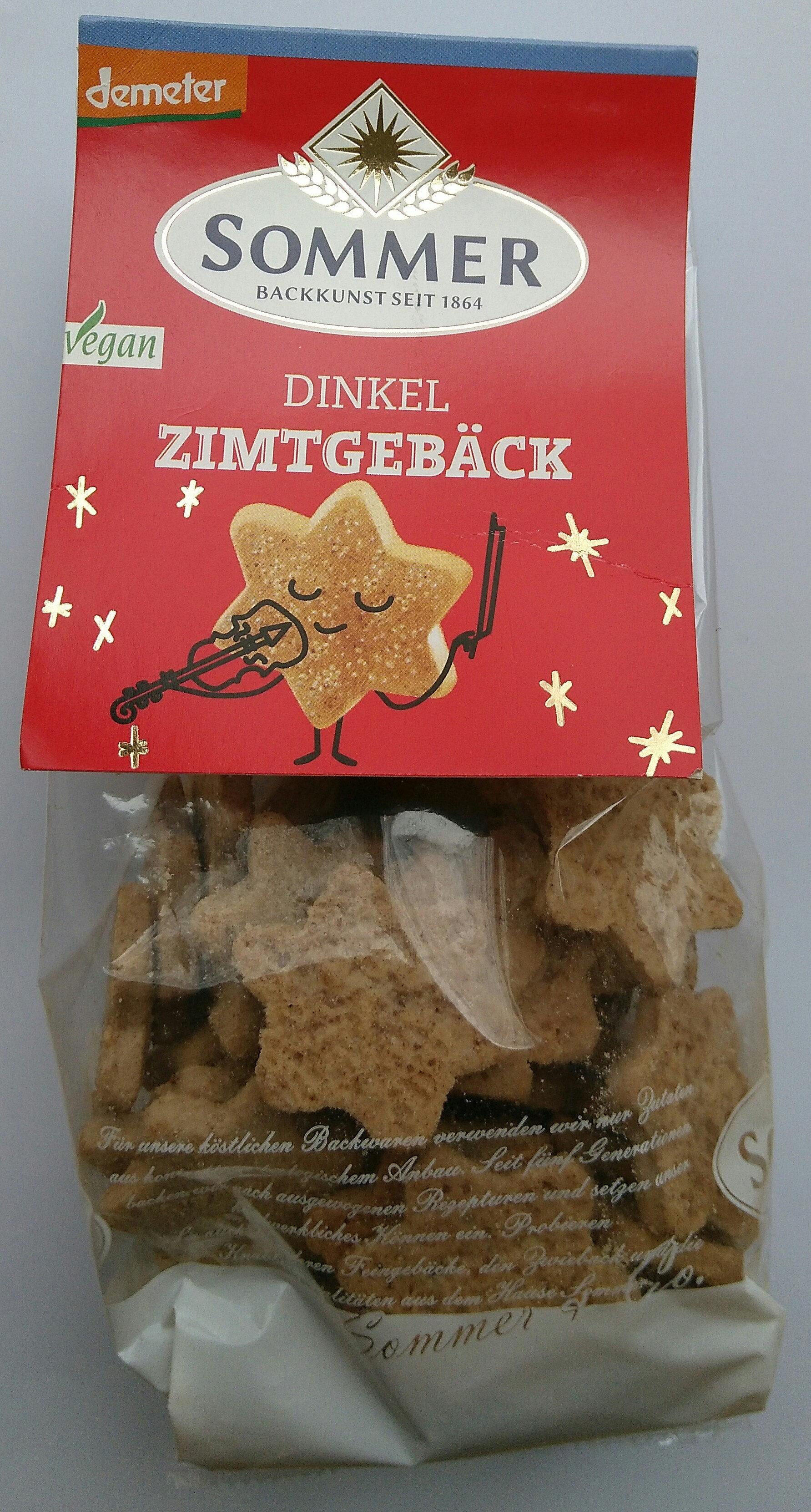 Dinkel Zimtgebäck - Produit - de