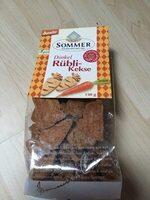 Biscuits à la farine d'épeautre complet, aux Carottes - Product - fr