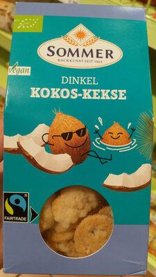 Dinkel Kokos Feine Plätzchen - Product - de