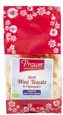 Mini Toasts à l'épautre - Product