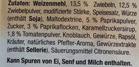 Fix gemacht Gulasch - Ingrediënten
