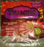 Salami de dinde Thamina Halal - Produit - fr