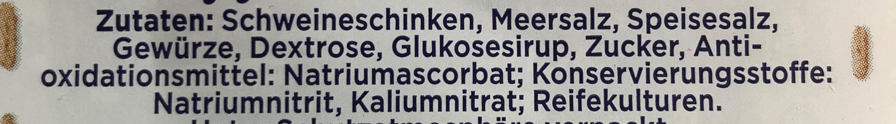 Gourmet-Schinken - Ingredients