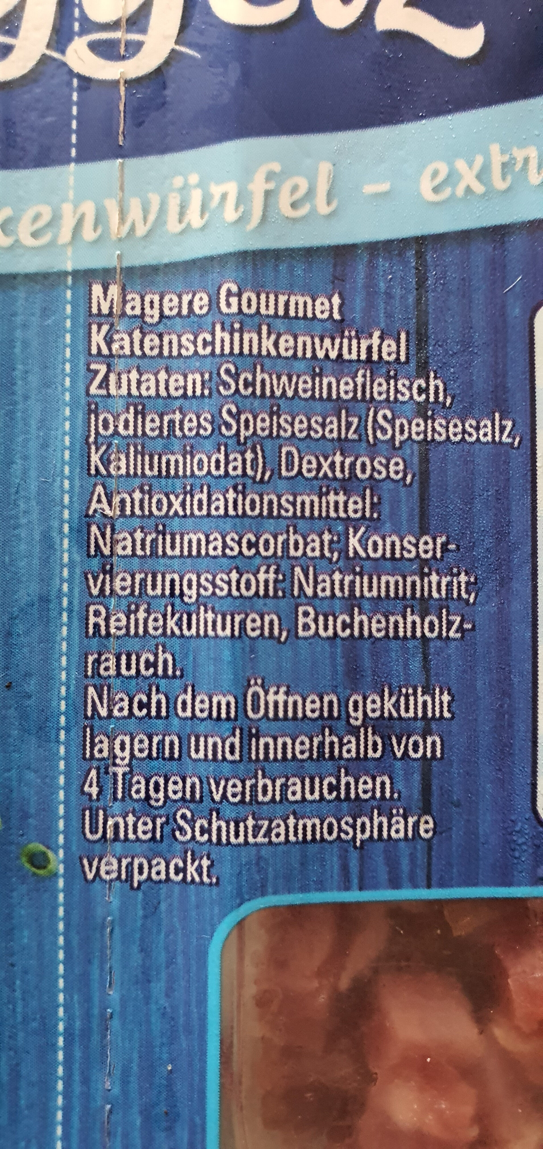 Schinken Nuggetz - Ingredients - en