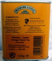 Orange Pekoe Tea - Ingredients