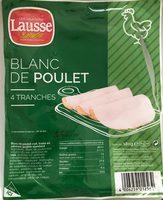 Blanc de poulet - Product