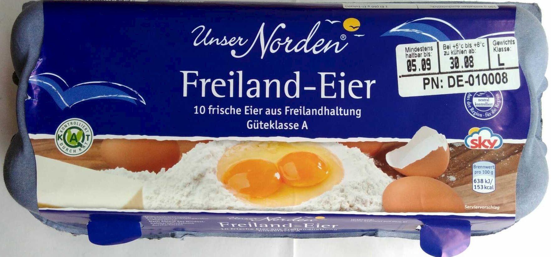 Freiland-Eier - Produit - de