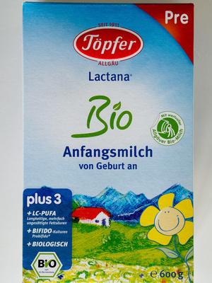 Lactana Bio Anfangsmilch Pre - Produit - de
