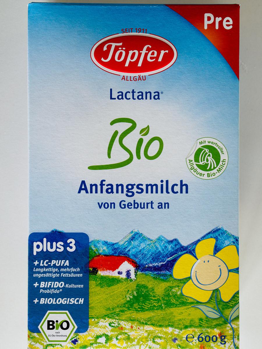 Lactana Bio Anfangsmilch Pre - Produit