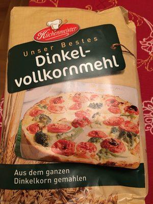 Dinkel Vollkorn Mehl - Produkt