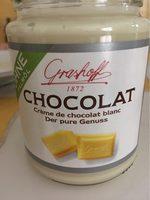 Creme de chocolat blanc - Produit - fr