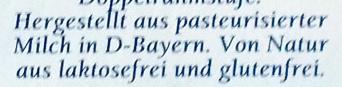 Bavaria blu Der Würzige - Ingredients
