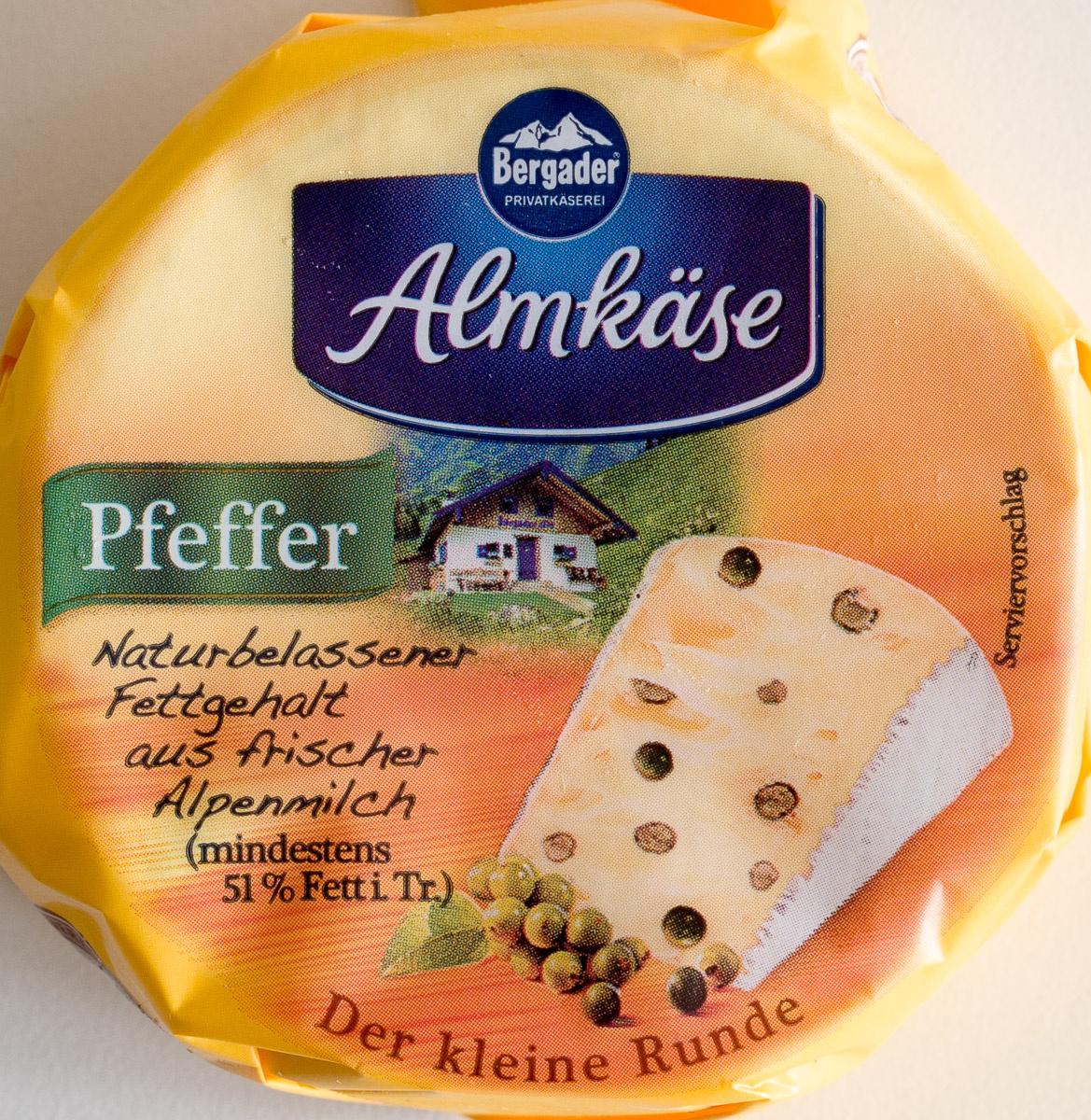Almkäse Pfeffer - Product - de