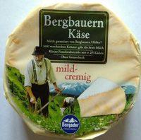 Bergbauern Käse mild-cremig - Produkt