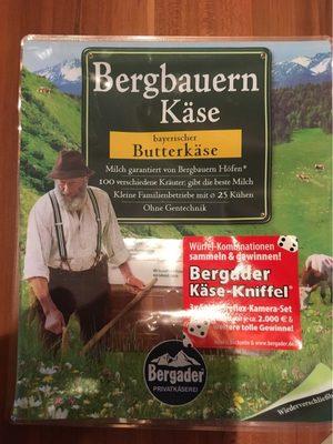 Bergbauern Käse - Bayerischer Butterkäse - Produit