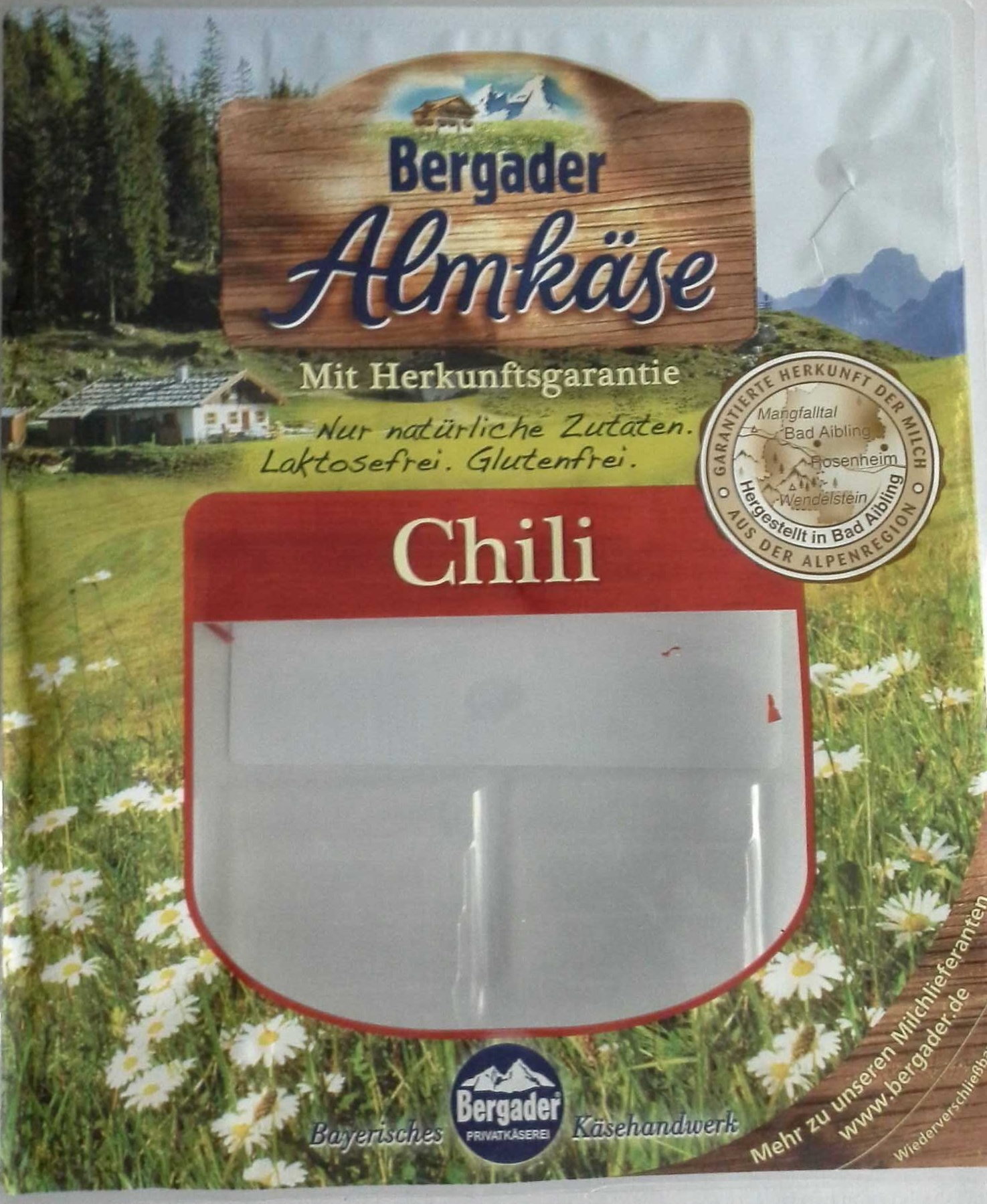 Bergader Almkäse Chili - Product - de