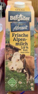 Frische Alpenmilch - Prodotto - de