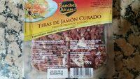 Tiras de jamon curado - Product - es