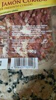 Tiras de jamon curado - Ingredients - es