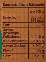 Meine Lieblings Forelle - Nutrition facts - de