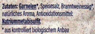 Bio Garnelen - Ingrediënten - de