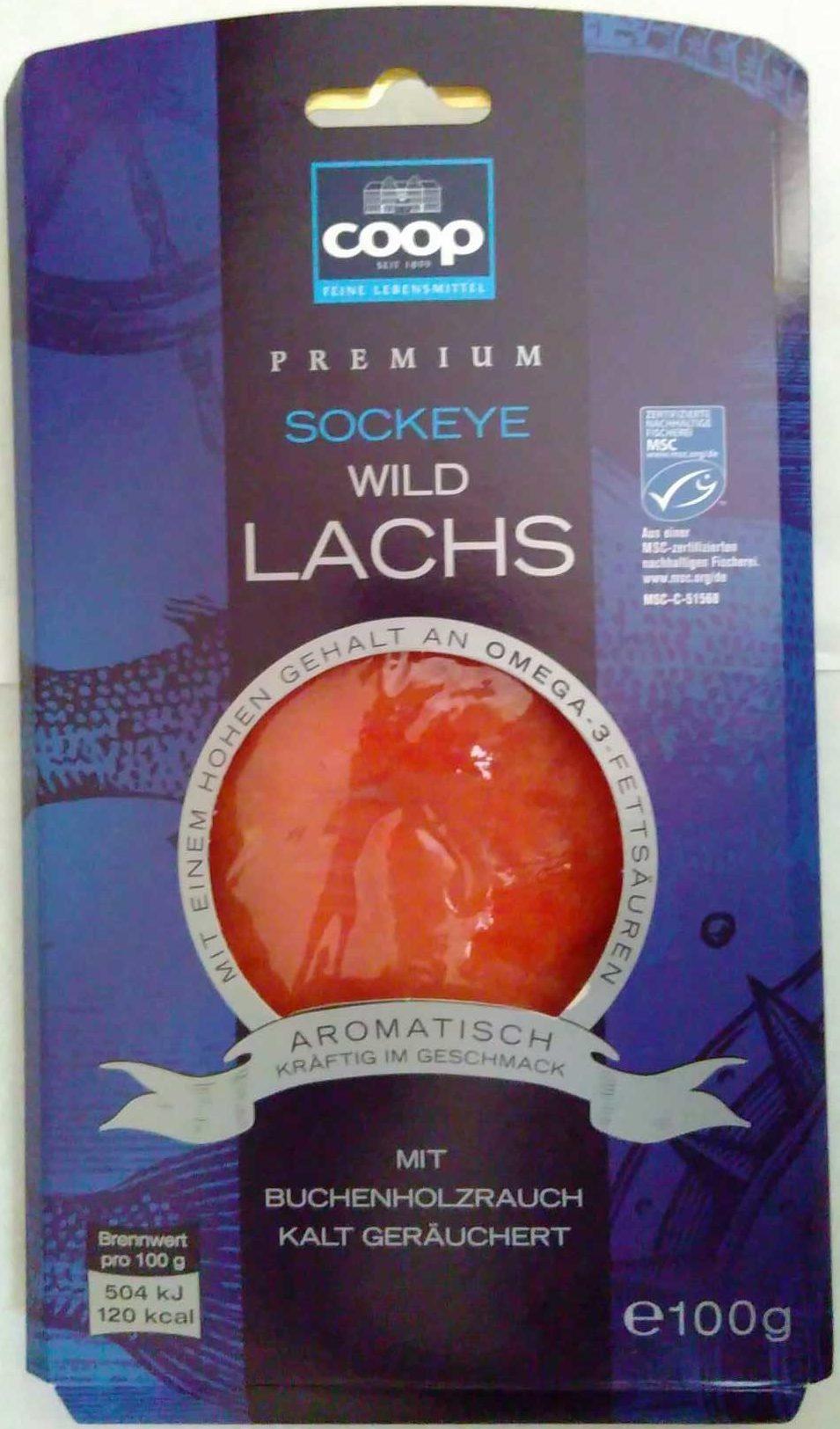 Sockeye Wildlachs - Produit - de