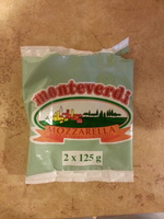 Mozzarella (18,5% MG) - 420 g - Monteverdi - Product