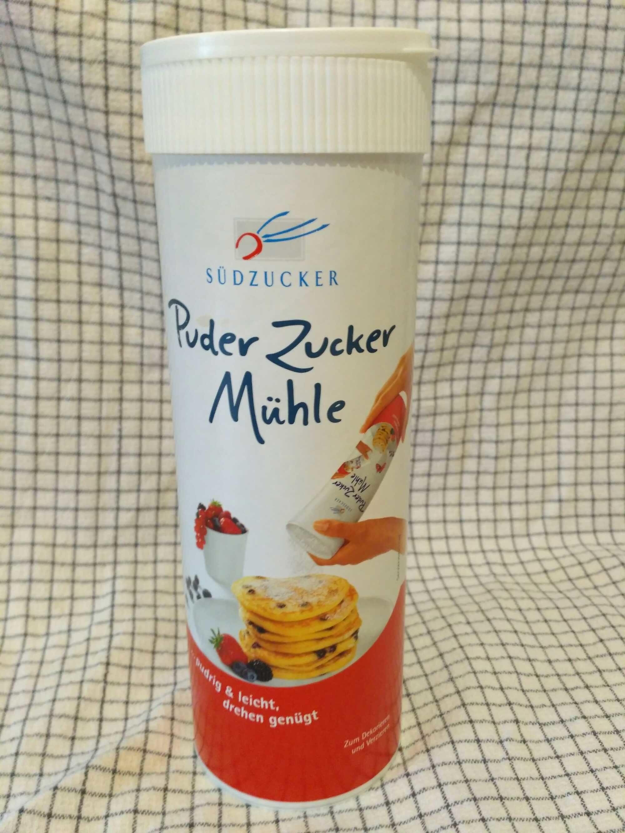 Puderzucker Mühle 0,25 KG Dose - Produit