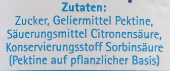 Gelierzucker 2plus1 - Ingredients - de