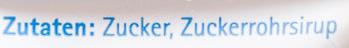 Brauner Zucker - Ingrediënten - de