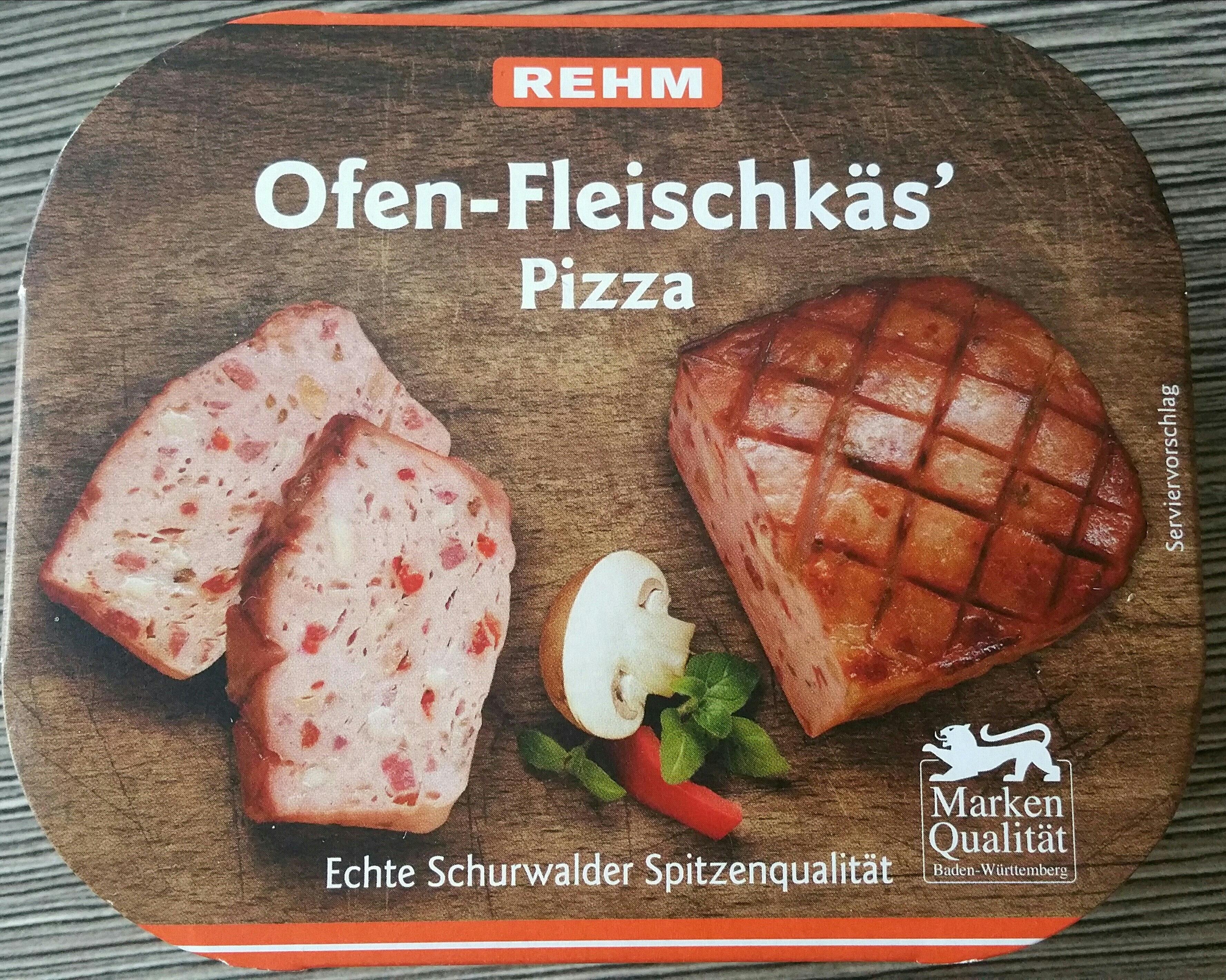 Ofen-Fleischkäse Pizza - Product