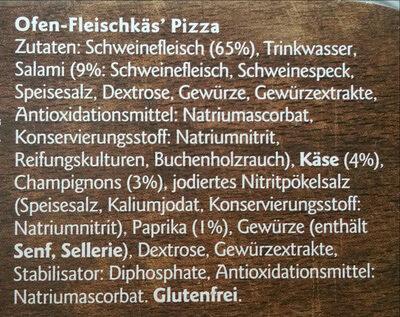 Ofen-Fleischkäse Pizza - Ingredients