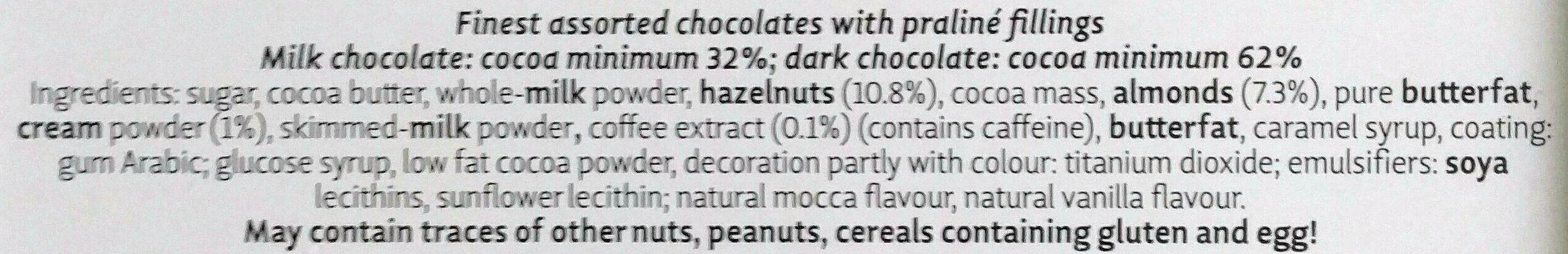 Berlin - Ingredients - en