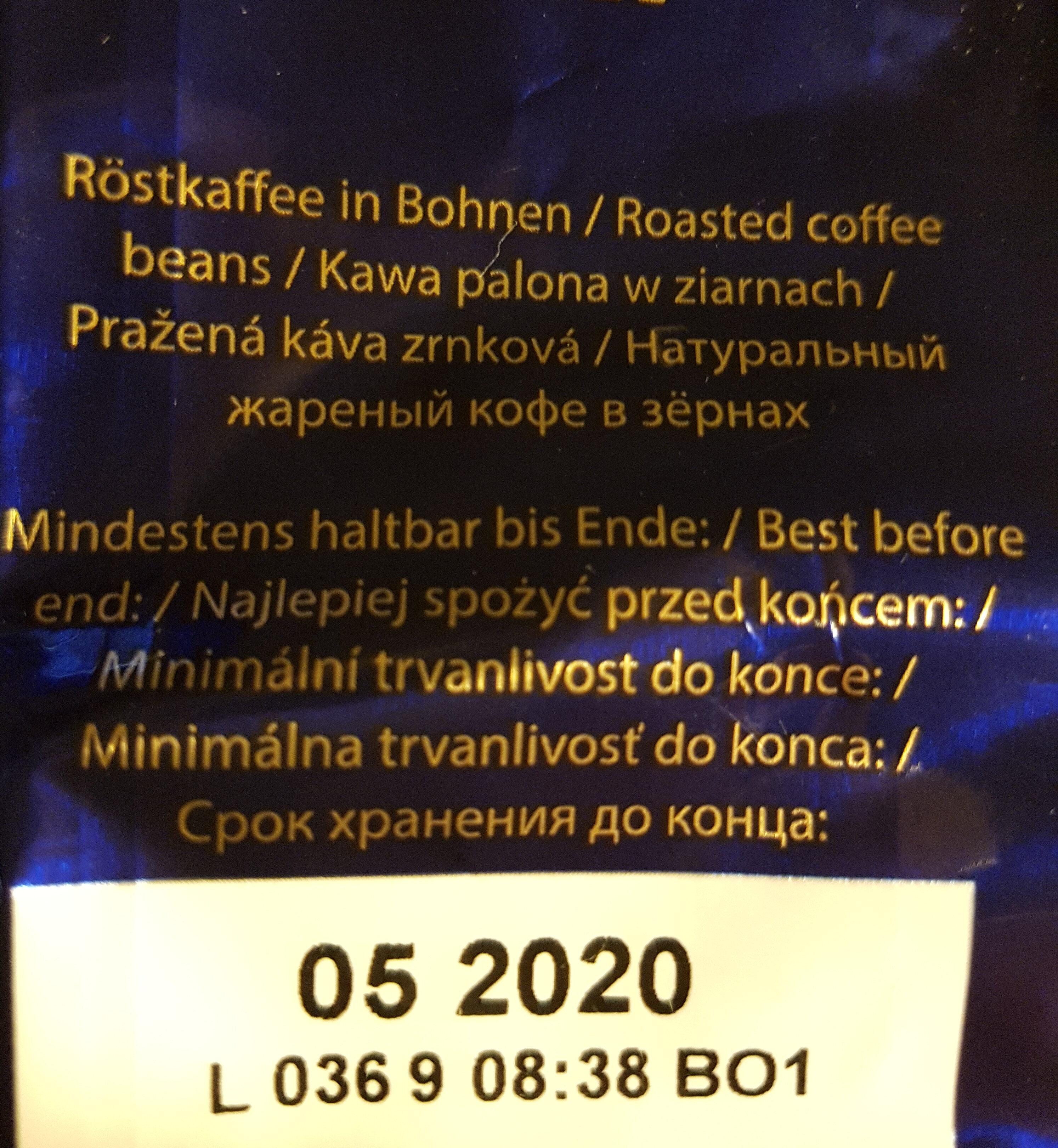 GOURMET Kaffee - Inhaltsstoffe - de