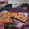 Pflaumen-Streusel-Kuchen - Produkt