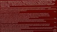 Adventskalender - Informations nutritionnelles - fr