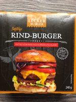 Rind Burger - Produkt