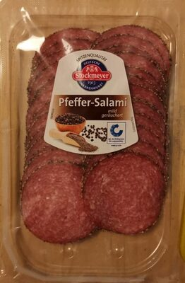 Pfeffer-Salami mild geräuchert - Produkt - de
