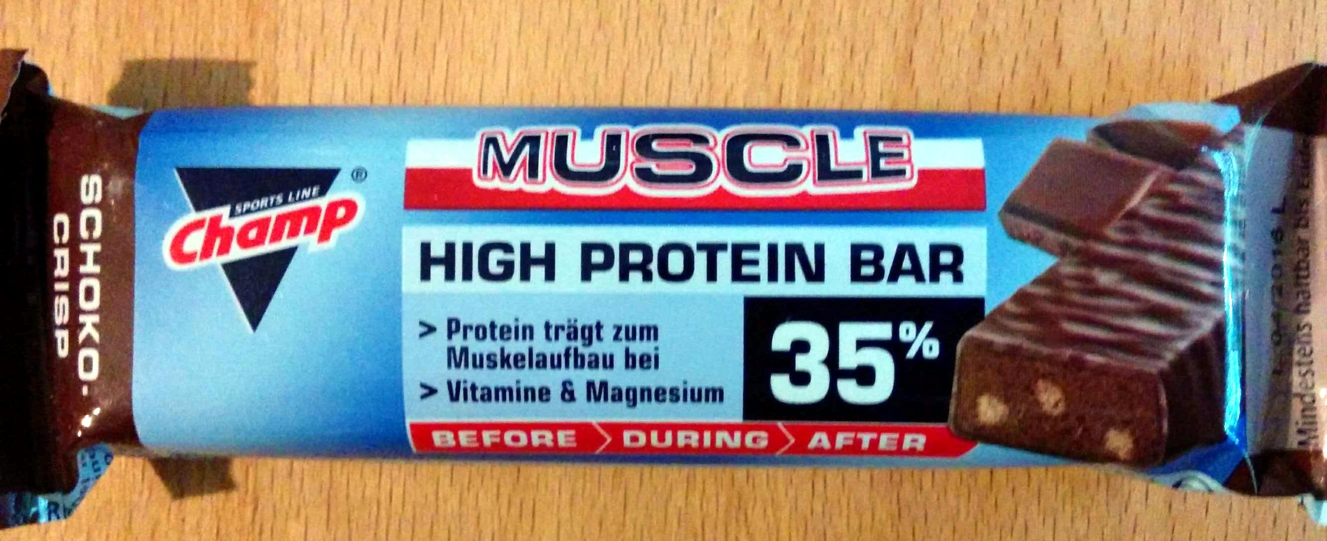 Muscle High Protein Bar 35% - Produkt - de
