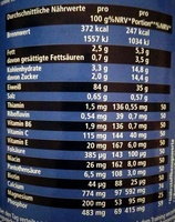 Body Shape Protein Shake 90 Plus L-Carnitine - Nutrition facts