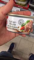 Saucisse au foie de veau et veau - Product