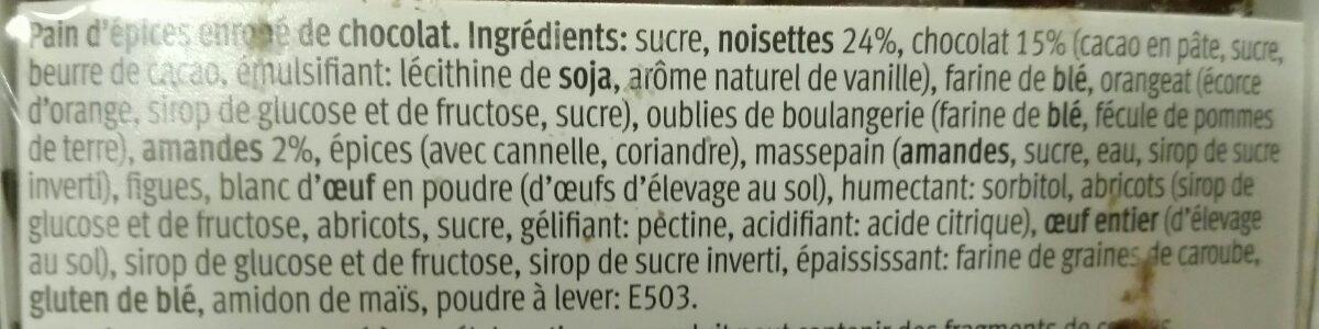 Mini Elisen Lebkuchen Schokoliert - Ingredients