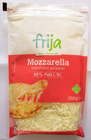 frija Mozzarella, gerieben - Produkt - de