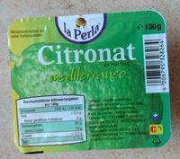 Citronat mediterraneo gewürfelt - Produkt
