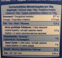 Sardinen in Sonnenblumenöl - Nutrition facts - de