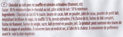 Schoko-Reis - Ingrédients - fr